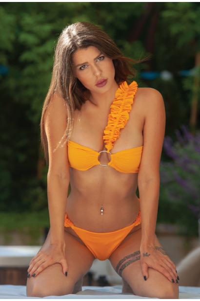 סדנת תפירת ועיצוב בגד ים דו צדדי | ביקיני סטרפלס
